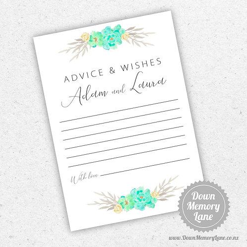 Advice Cards - Mint