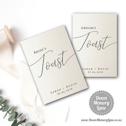 Toast Book - Classic Ivory Shimmer - Style 1
