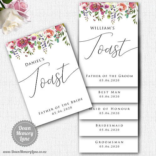 Toast Book - Classic Spring Floral