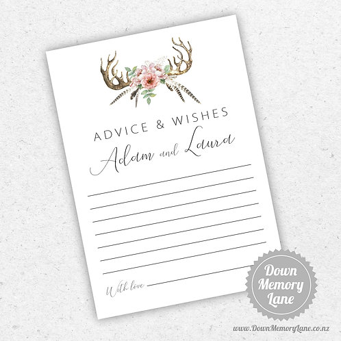 Advice Cards - Antlers