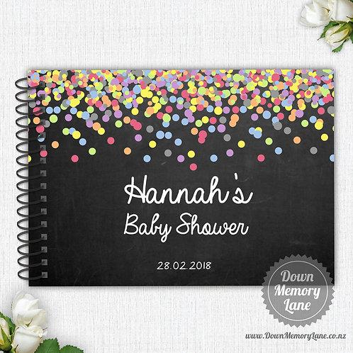 A4 Size - Baby Confetti