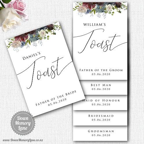 Toast Book - Classic Wild Bouquet