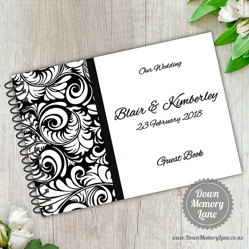 A5 Size - Flourish Black