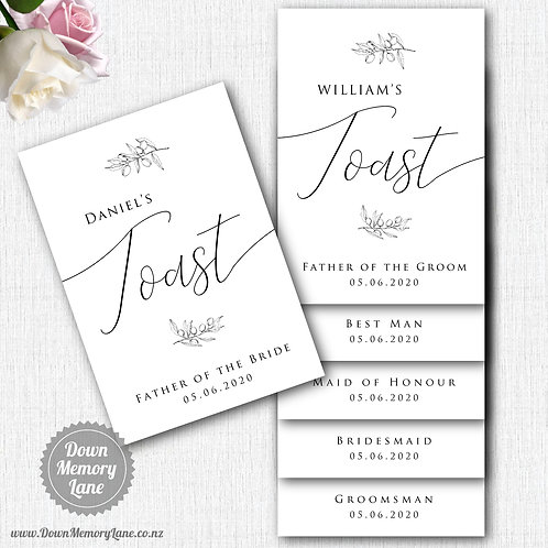 Toast Book - Classic Olive Branch