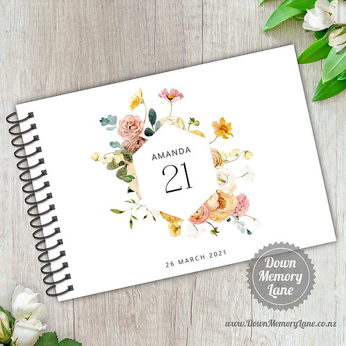 A5 Size - Birthday Spring Meadow