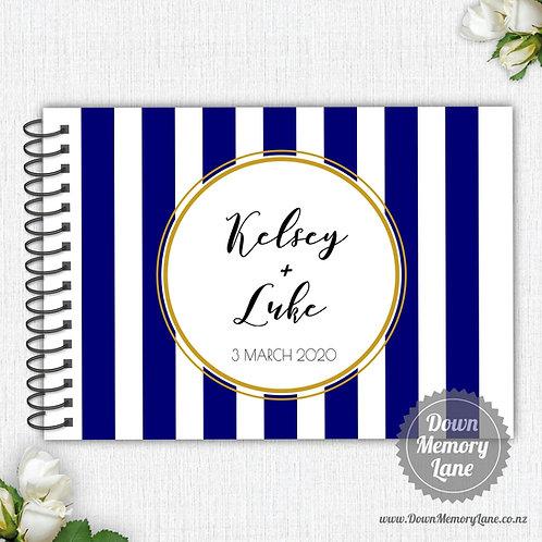 A4 Size - Stripe Blue