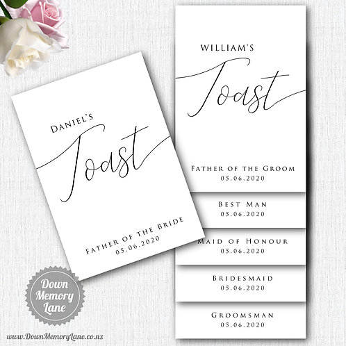 Toast Book - Classic White