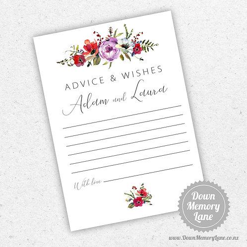 Advice Cards - Meadow