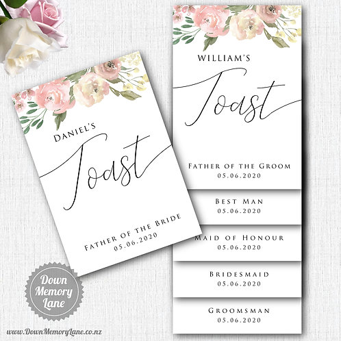 Toast Book - Classic Dusty Pink
