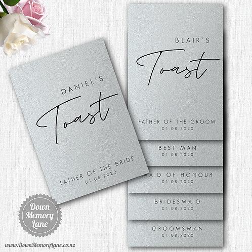 Toast Book - Contemporary Silver