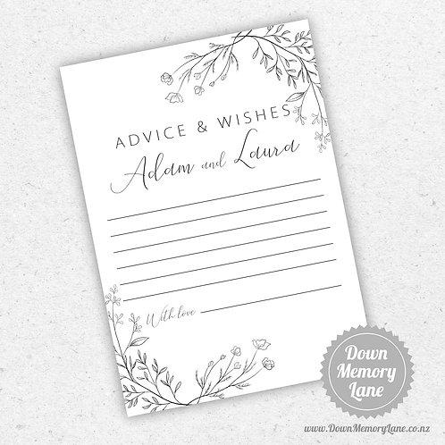 Advice Cards - Mono Meadow