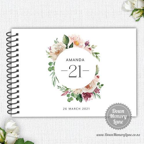 A4 Size - Birthday Pastel Rose
