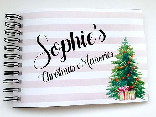 A4 Size - Christmas Tree Stripes