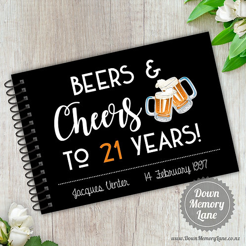 A5 Size - Beers & Cheers