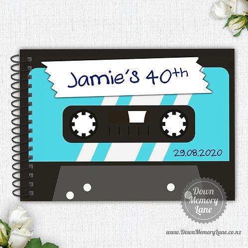 A4 Size - Mixtape Blue
