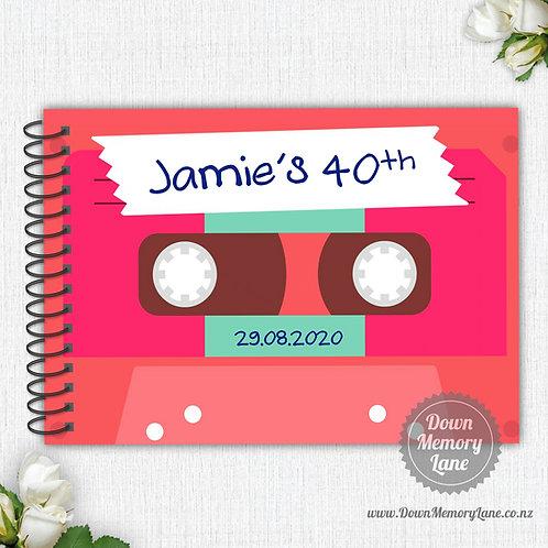 A4 Size - Mixtape Pink