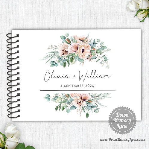 A4 Size - Delicate Blooms