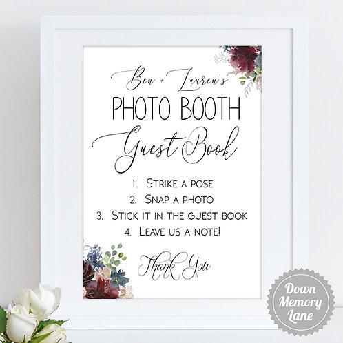 Instax/Polaroid/Photo Booth - For Geo Diamond