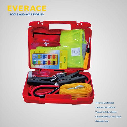 916014  10pc Automotive Emergency Kit