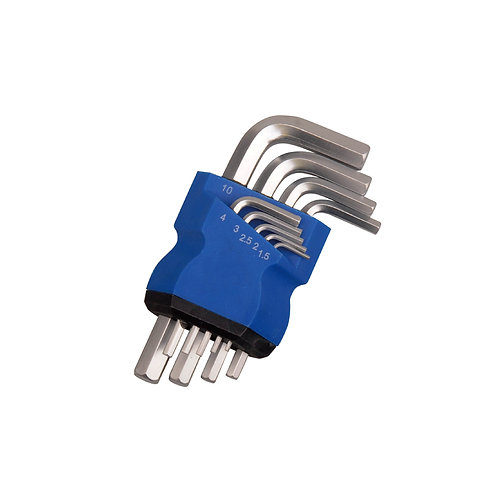 517001   9pcs Hex Key Set