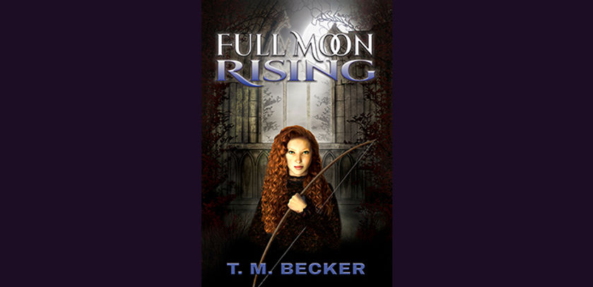 Bookcove for Full Moon Rising by T.M. Becker