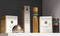 Testers for you to try Eminence Organic Skin Care