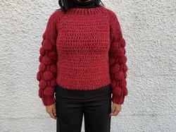 Crochet Bubble Sweater