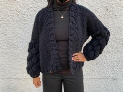 Crochet Bubble Cardigan
