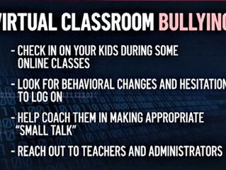Tips for Parents and Students on Preventing 'Zoom Bullying'