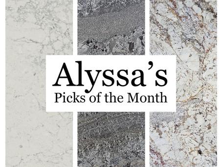 Alyssa's Picks of the Month for September
