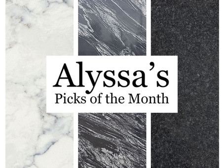 Alyssa's Picks for August!