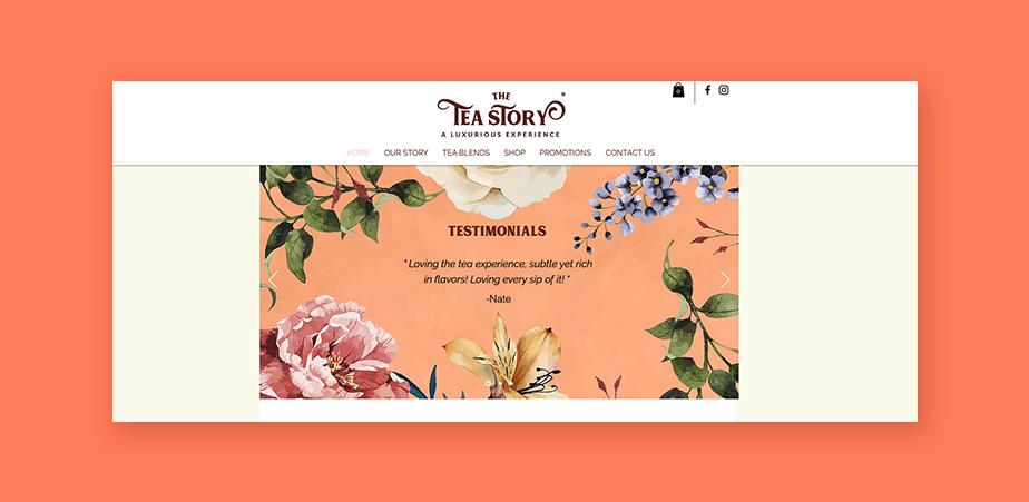 Copywriting: customer testimonials