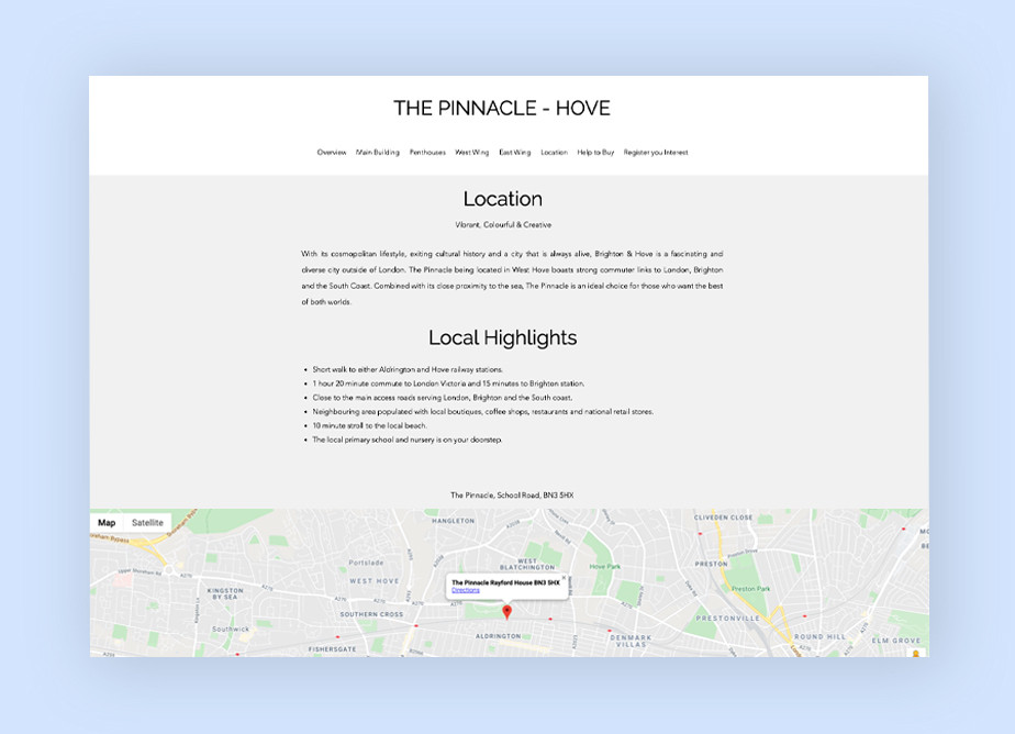 Real estate agent websites: The Pinnacle