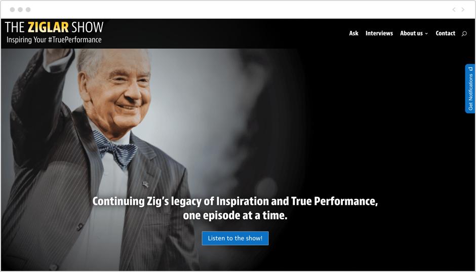 Best motivational podcasts: The Ziglar Show
