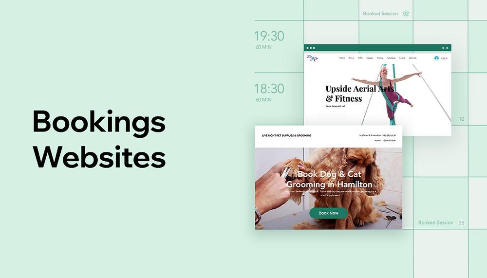 Wix Bookings websites
