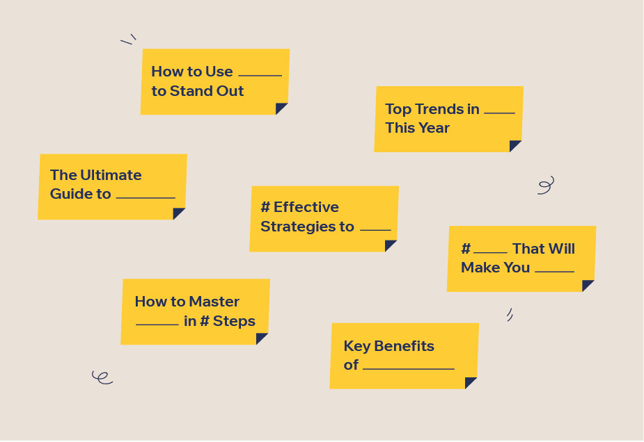 How to write a blog post: Blog titles