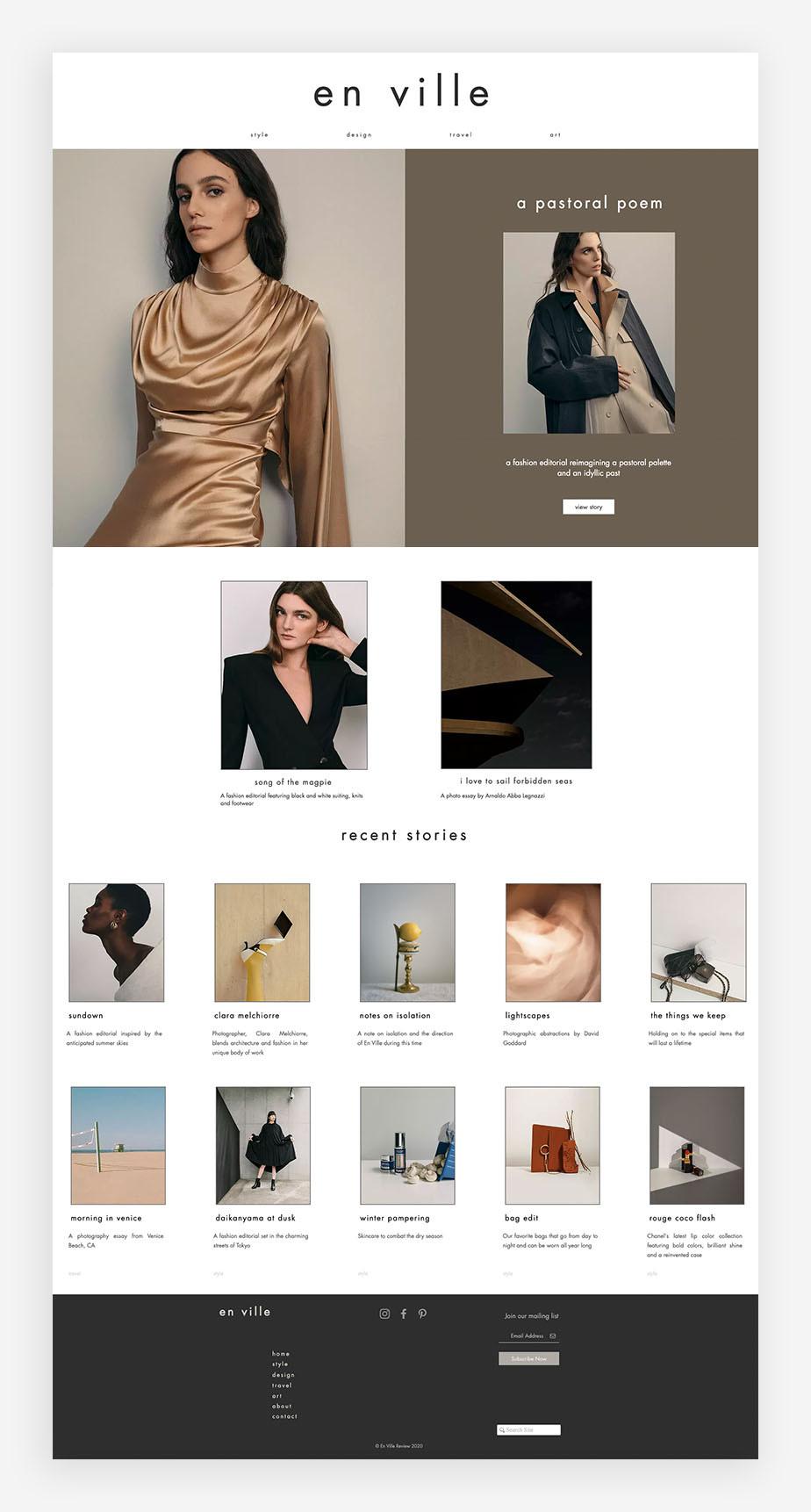 blog examples En Ville