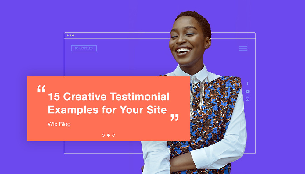 testimonial examples for your website