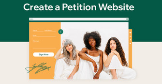 How to Start a Petition Website to Support Your Cause