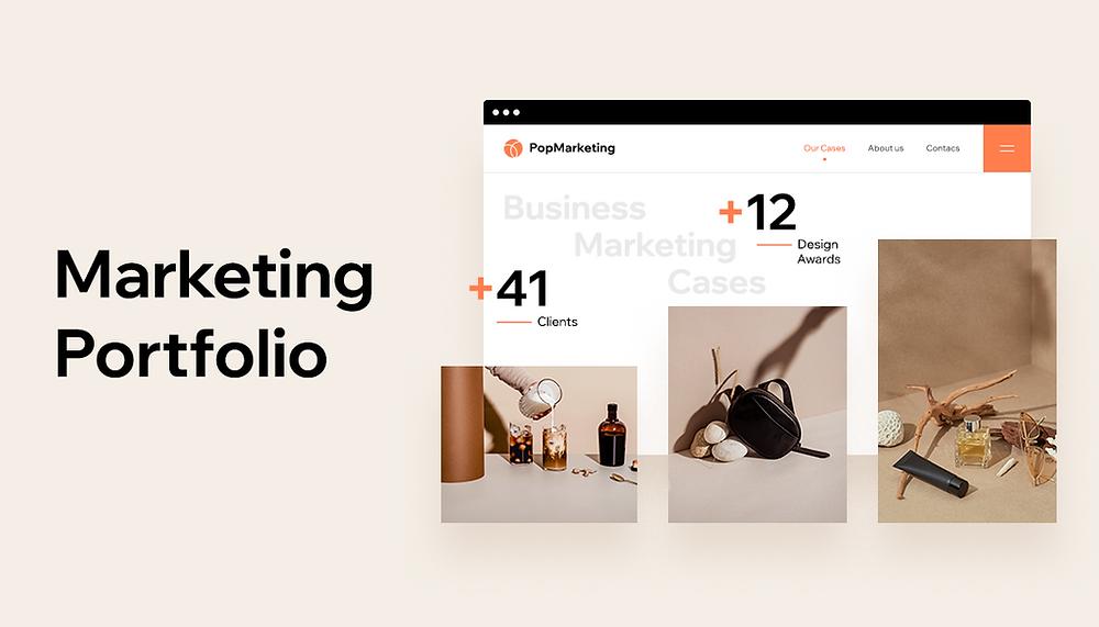 How to create a marketing portfolio