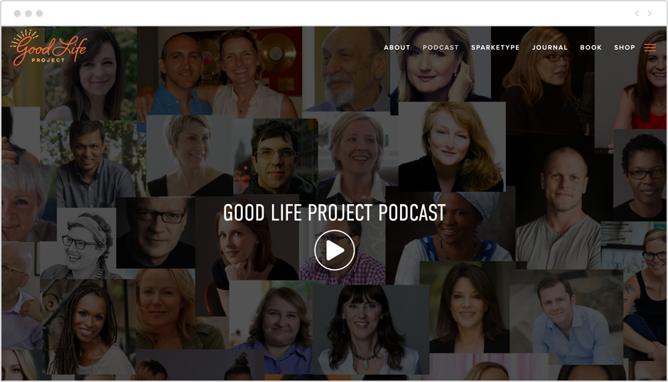Best motivational podcasts: The Good Life Project
