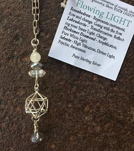 Flowing Light Necklace
