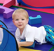Wiggle Worm Parties - play area - first bithday