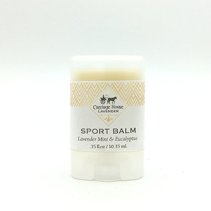 Sport Balm-Eucalyptus, Mint & Lavender