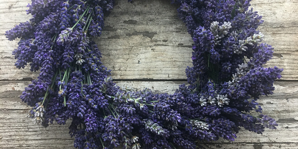 Lavender Wreath Making (Second Chance)