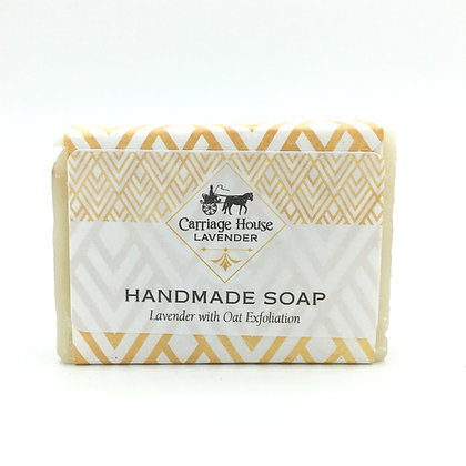Handmade Soap Lavender Oat Exfoliation