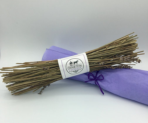 Carriage House Lavender: Lavender Stem Fire Starter