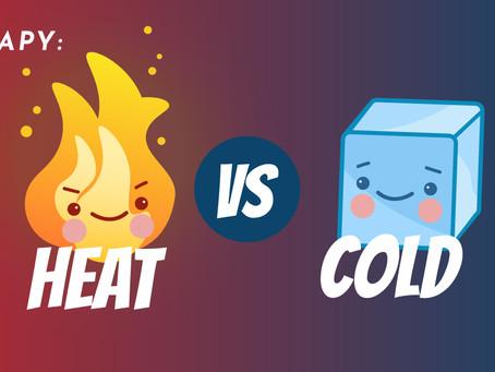 Pour ma blessure, dois-je mettre du chaud ou du froid ?
