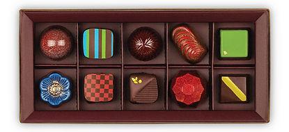 Nakamura Chocolates Dark Box