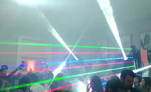 Iluminação ribalta laser